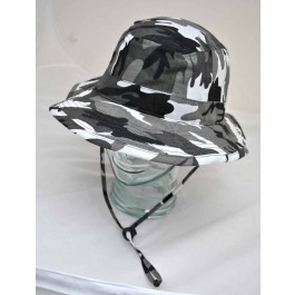 Urban Camo Bush Hat