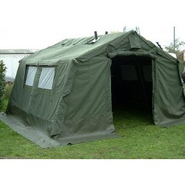 12x12 Ex British Army OFCS Catering Frame Tent - Super Grade