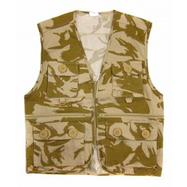 British Army style Multi Pocket Desert Waist Coat