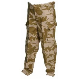 Ex British Army Desert Windproof Trousers