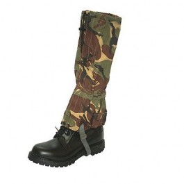 British Army DPM Gore- Tex Gaiters - Long Length - A grade