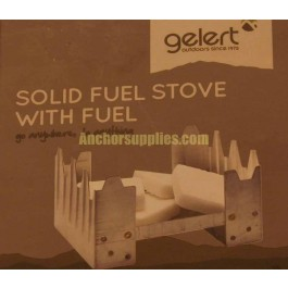 Gelert Solid Fuel Stove With Fuel
