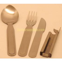 knife fork spoon clip set with bottle opener. Black Bedroom Furniture Sets. Home Design Ideas