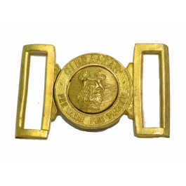 Brass Gibraltar Belt Buckle