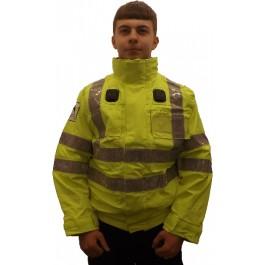 Ex-Police Hi-vis Bomber Jacket