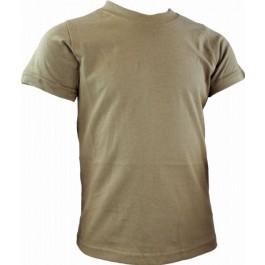 Highlander Kids Army T Shirts - Brown