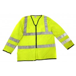Ex Police Hi Vis Long Sleeve Waist Coat