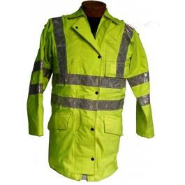 Genuine Ex Police Hi Vis Jacket - B Grade