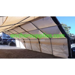 British Army Sun Screen with Frame - 36ft x 20ft