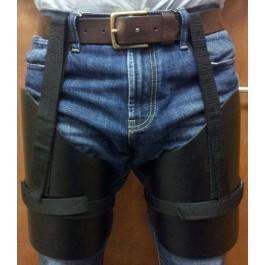 Ex Police Thigh Protection / Armour  - Plain