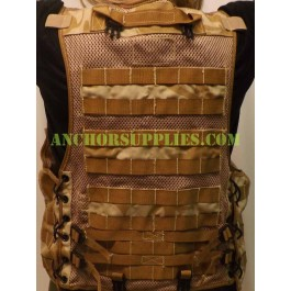 British Army Desert Tactical Load Carrying Molle Vest