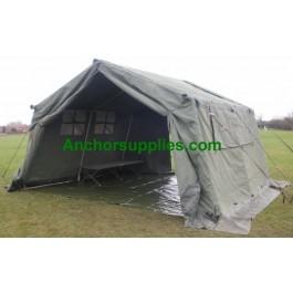 12x12 Ex British Army Frame Tent - A Grade