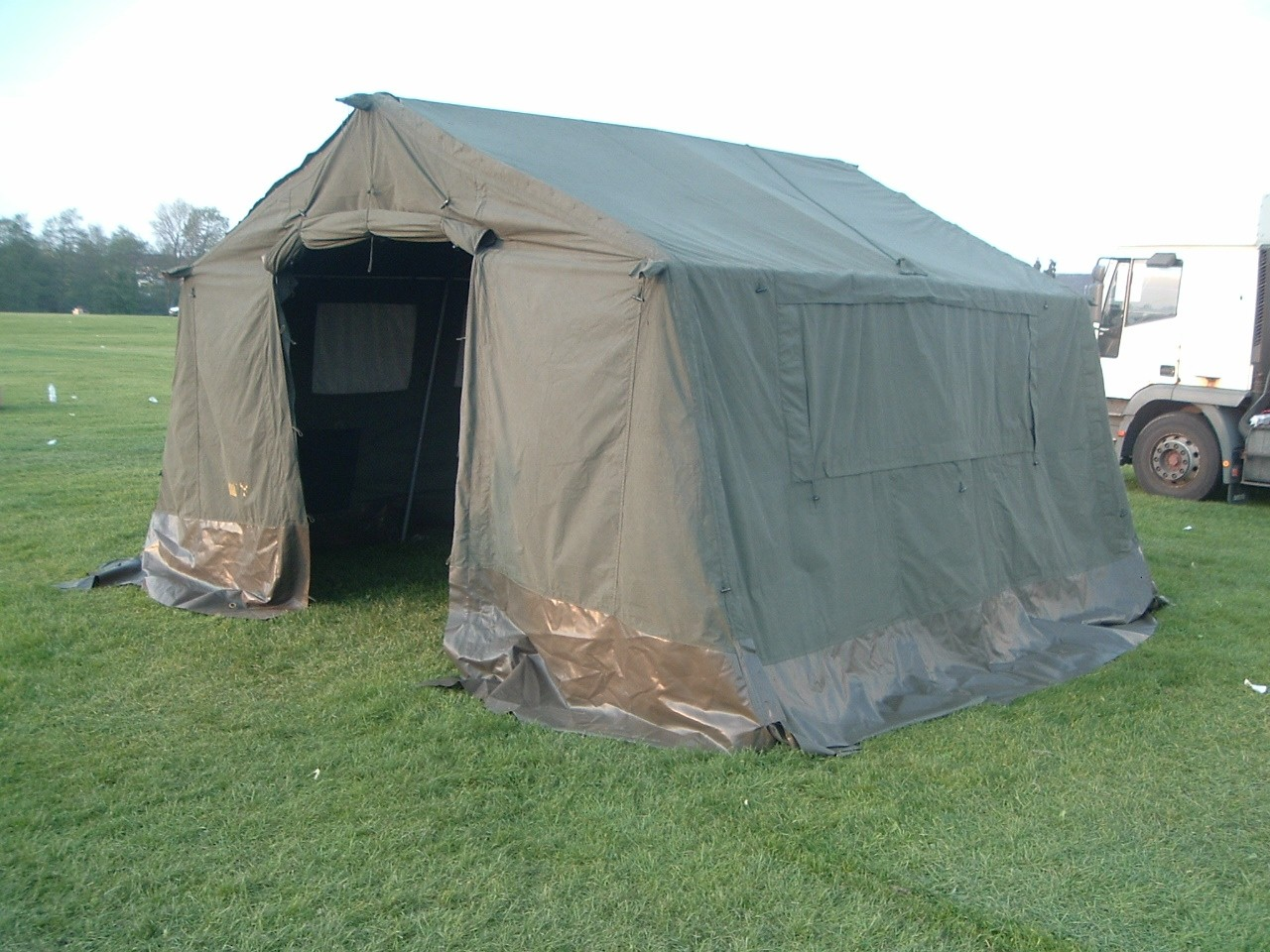 12x12 Ex British Army Catering Frame Tent (AKA 15x12) Super