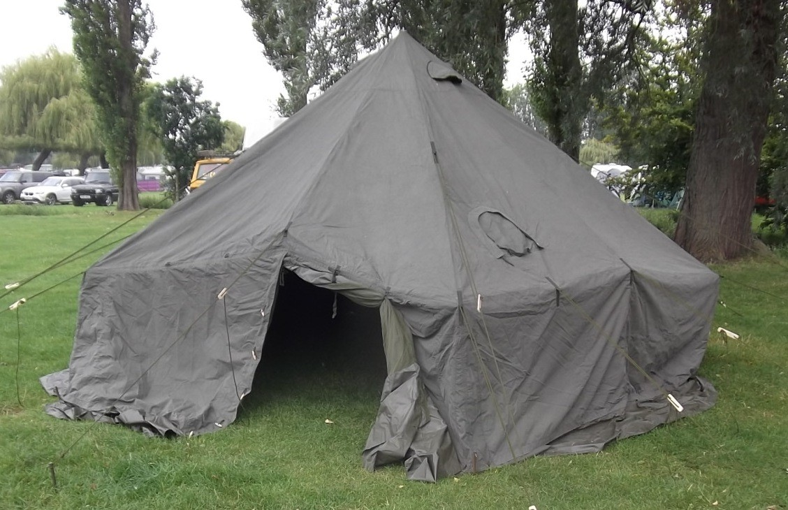 Ex British Army 10 Man Arctic Bell Tent - Heavy Duty - A Grade & British Army 10 Man Arctic Bell Tent - Heavy Duty - A Grade
