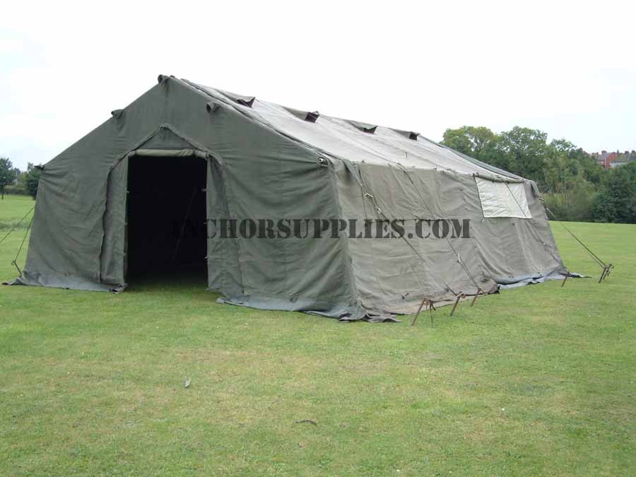 24 x 18 Ex British Army Frame Tent - Super Grade  sc 1 st  Anchor Supplies & x 18 Ex British Army Frame Tent - Super Grade