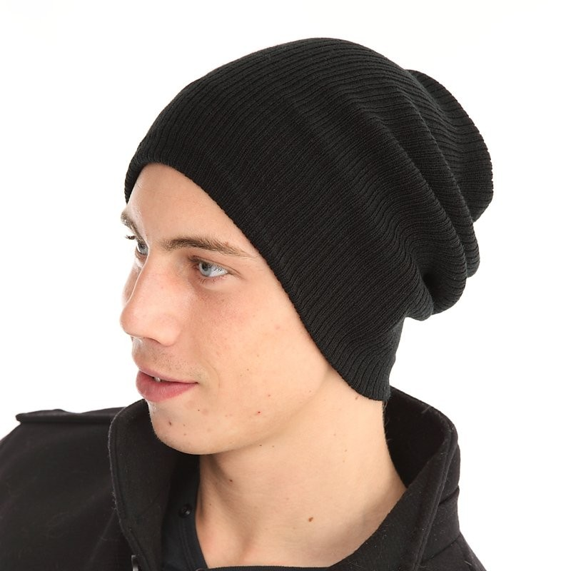 Bind winter beanie hat purple or charcoal free delivery