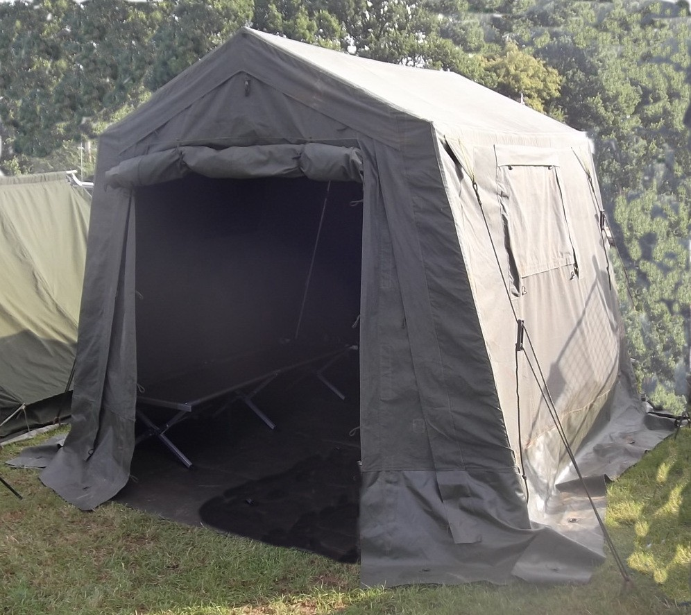Ex British Army 9u0027 x 9u0027 Command Post (Wolf) Tent- A & Ex British Army 9u0027 x 9u0027 Command Post Tent- A grade