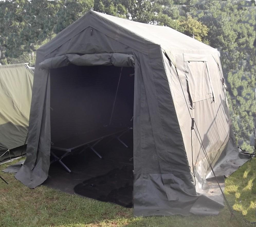Ex British Army 9 X 9 Command Post Tent A Grade