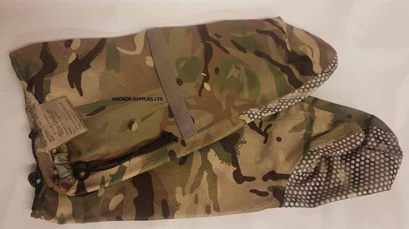 Genuine British Army MTP Extreme Cold Weather Outer Mitts.