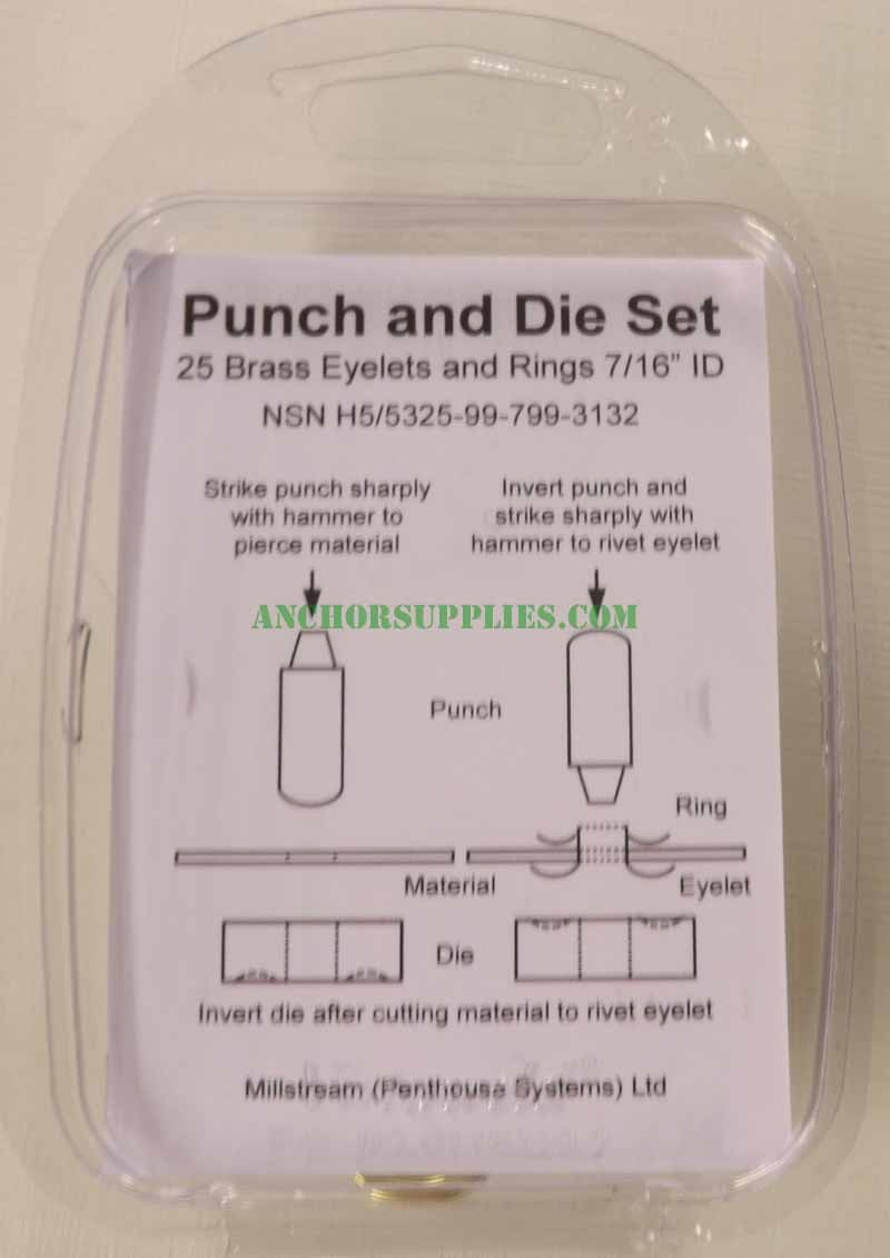 Punch And Die Set (Eyelets)