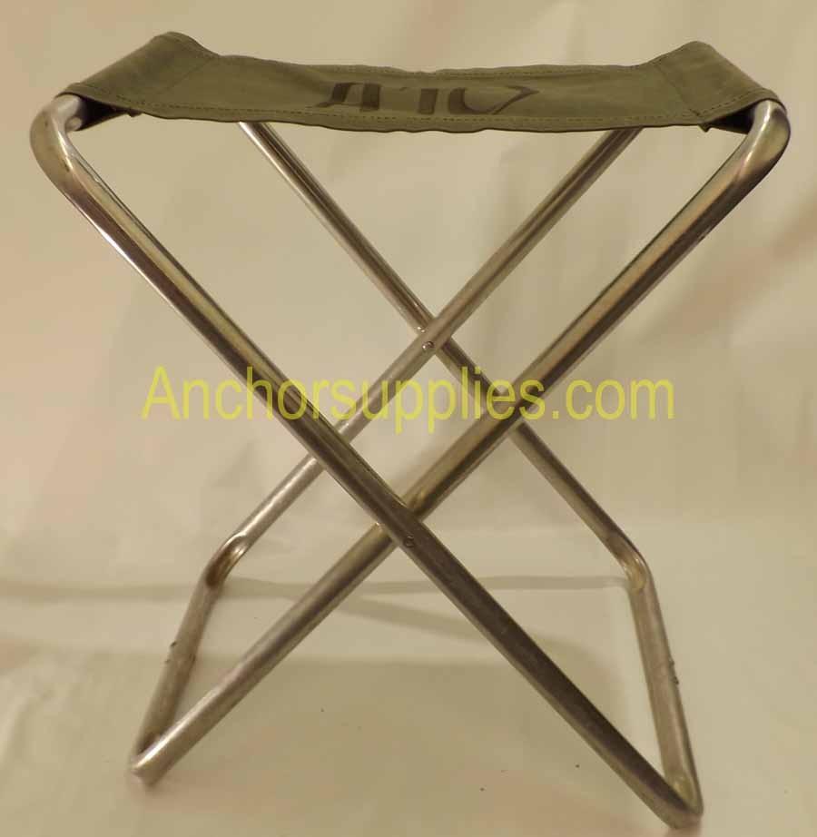 British Army Canvas Folding Stool