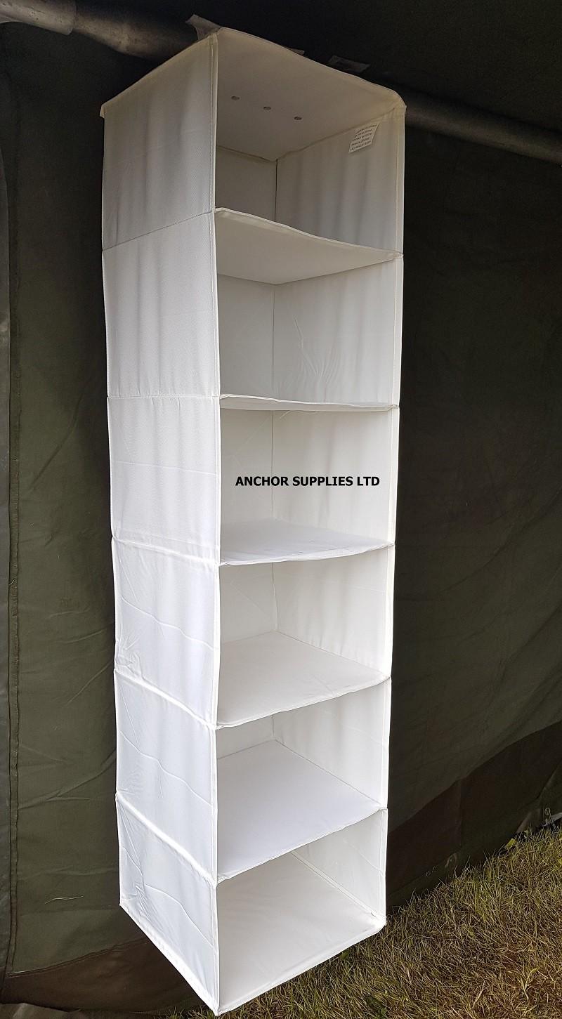 6 Shelf Hanging Wardrobe