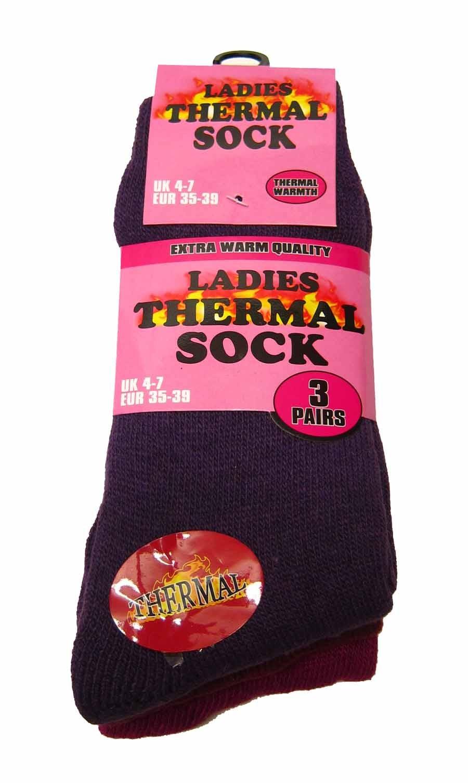 e8fd218ad380e Ladies Thermal Socks - Pack of 3