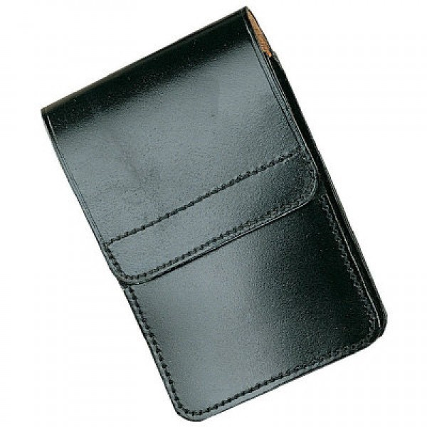 Ex Police Leather Notebook Pouch With Belt Loop