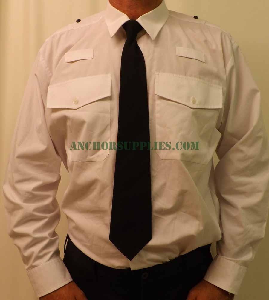 White Collar Shirt Mens