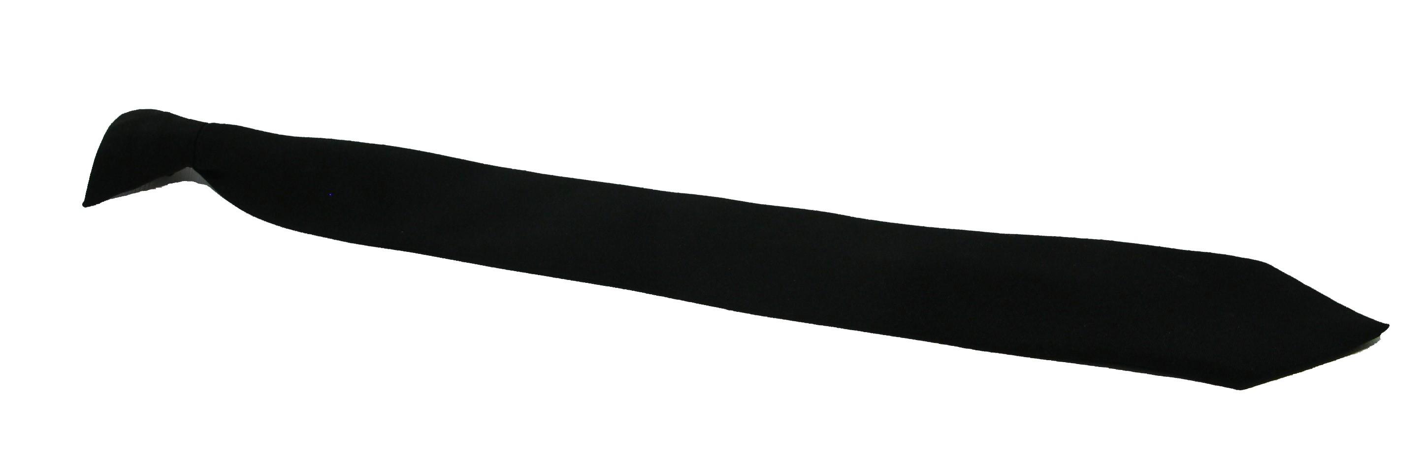 Ex Police Clip on Tie - Black