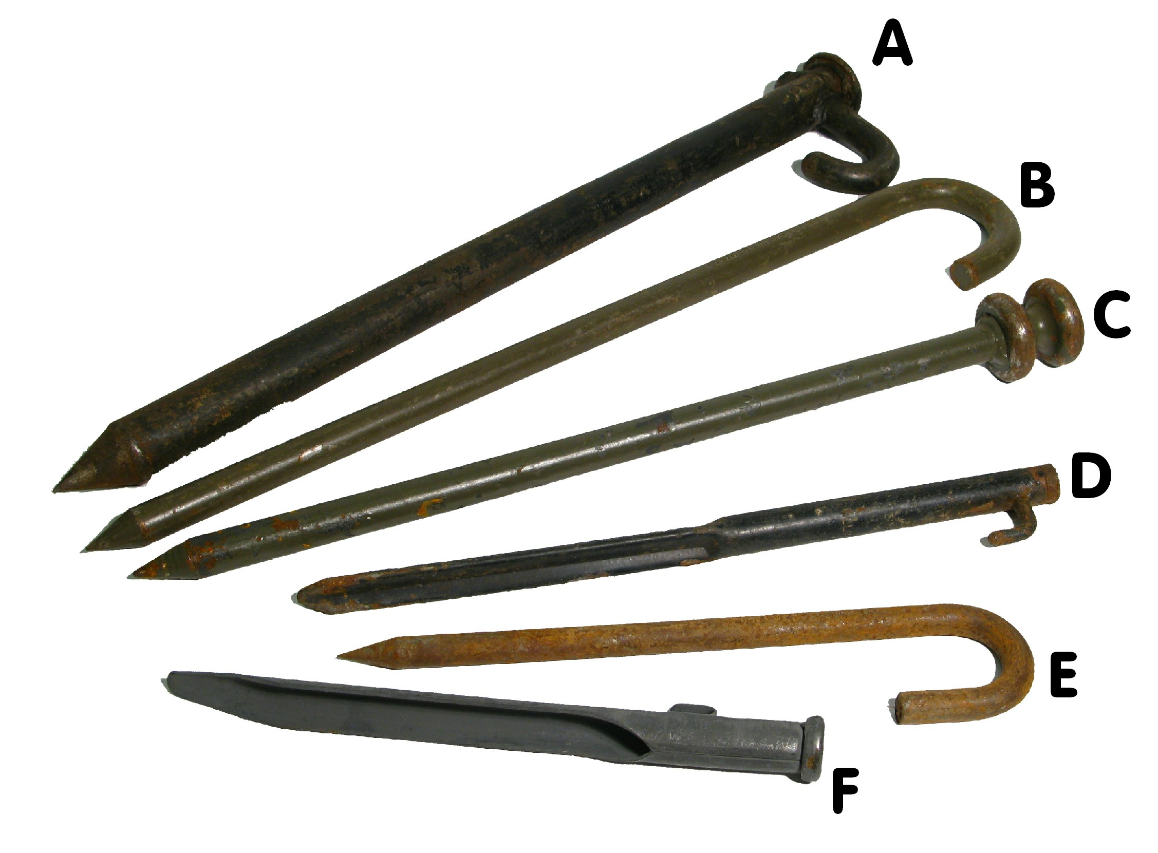 Selection of Tent Pegs