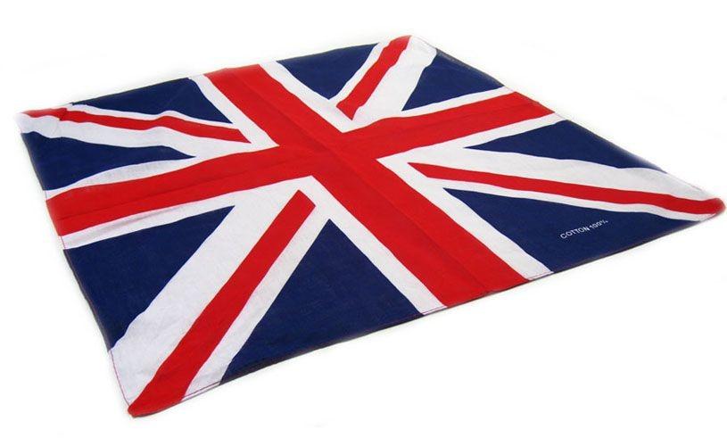 Union Jack Flag Design Bandanas