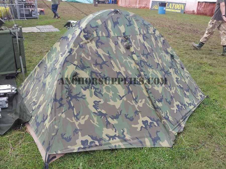 Genuine US Marine 2 Man 3 Season Tent & US Marine 2 Man 3 Season Tent
