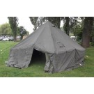 Ex British Army 10 Man Arctic Bell Tent With Chimney Section built in - Lightweight - A Grade