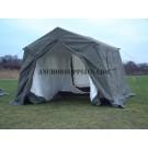 9 x 9 Ex British Army Frame Tent - Super Grade