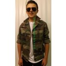 French Army Camo Jacket/Shirt F2