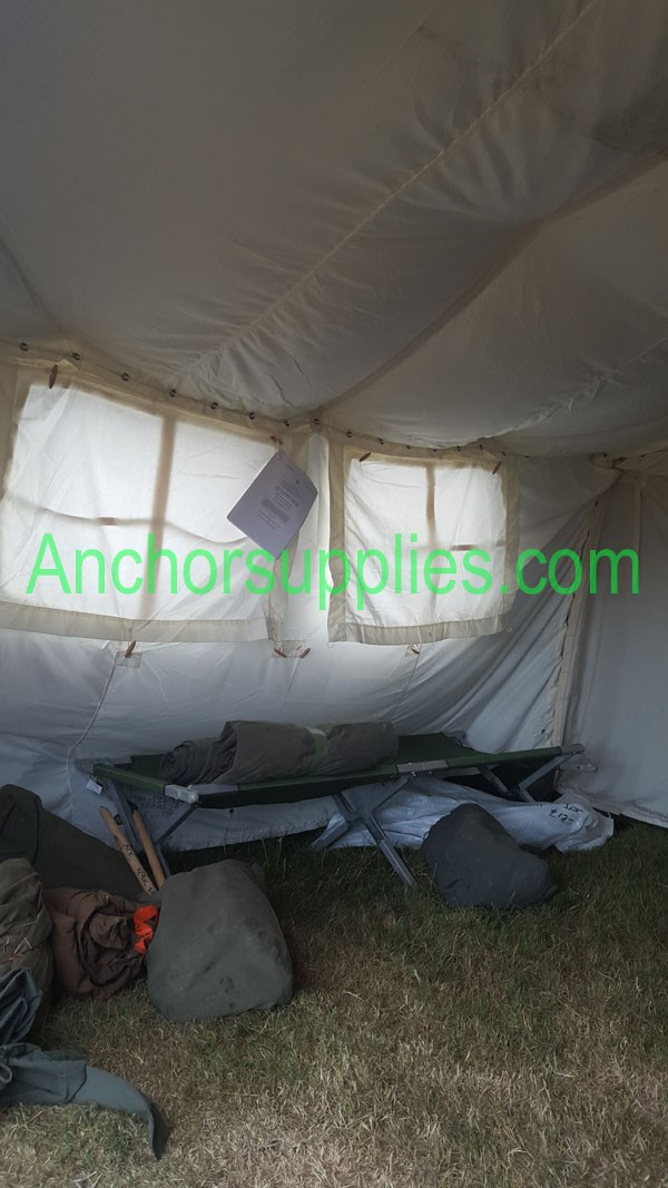 Liner Set For The British Army 12x12 Frame Tent