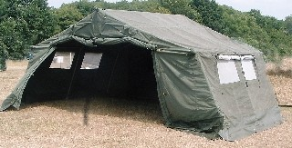 21 X 12 Ex British Army Frame Tent Unissued