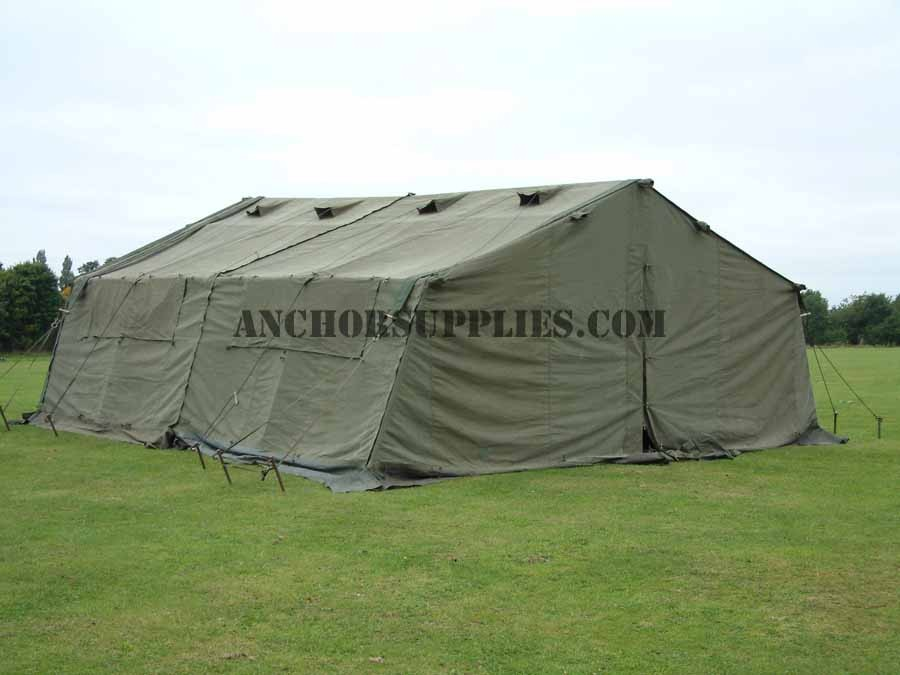 24 x 18 Ex British Army Frame Tent - Super Grade
