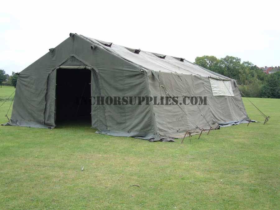 24 X 18 Frame Tent Ex British Army A Grade