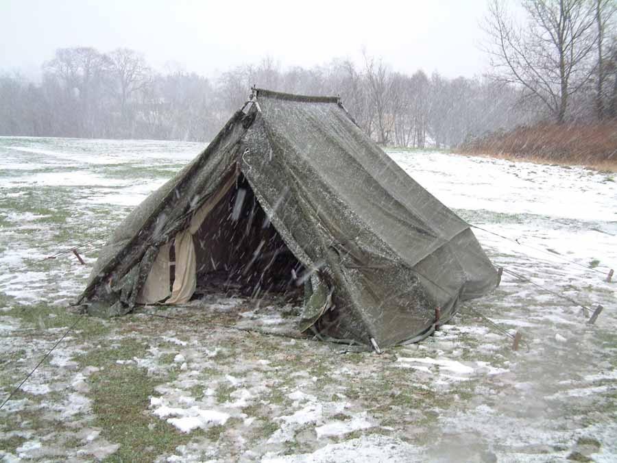 British Army 5 Man Arctic Ridge Tent A Grade