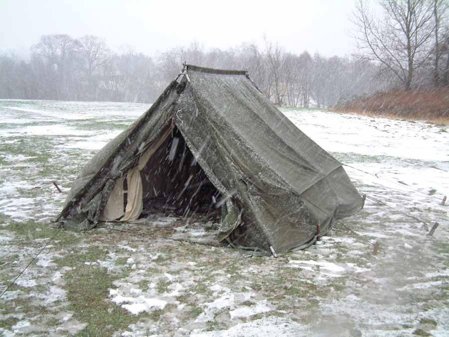 British Army 5 Man Arctic Ridge Tent Super Grade