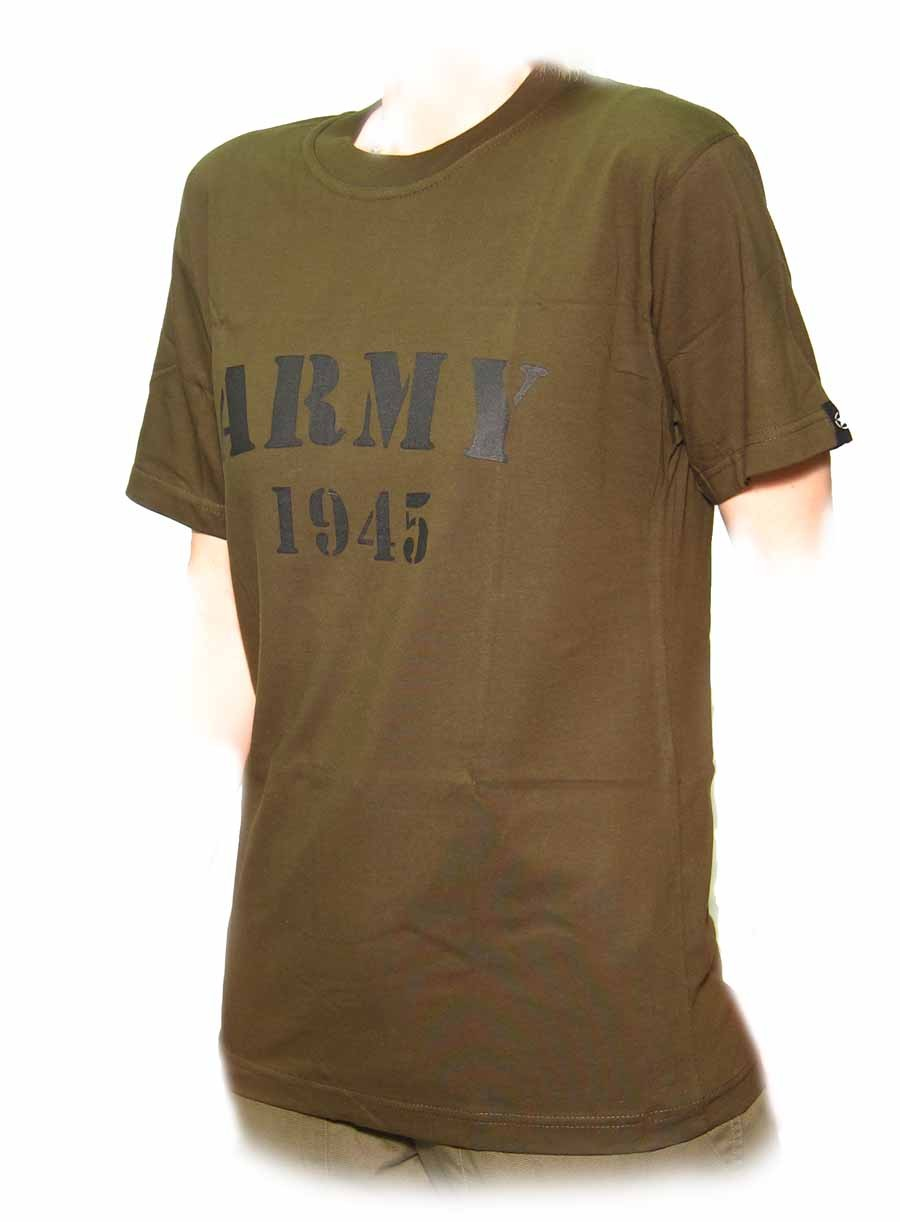 FashSam T Shirts Nostalgic Military Pins from Different Countries Uniform Army Style Gra