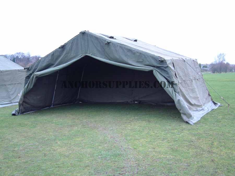 21 X 12 Ex British Army Frame Tent Super Grade