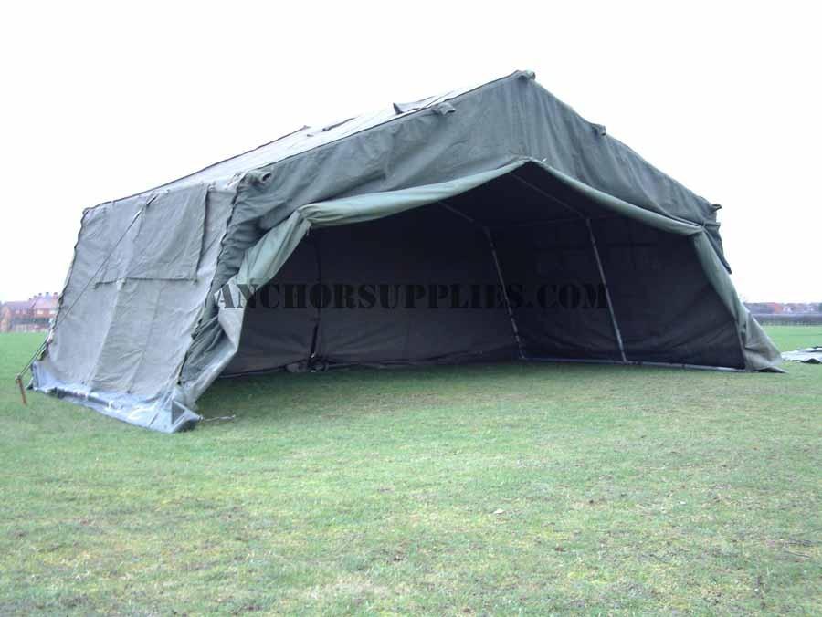 18 x 12 Ex British Army Frame Tent