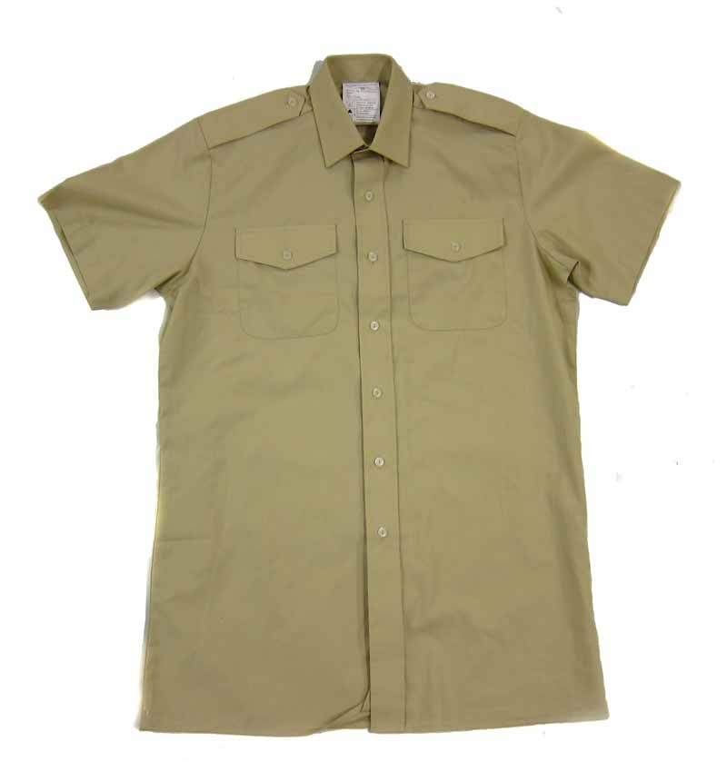 British Army All Ranks Fawn Shirt