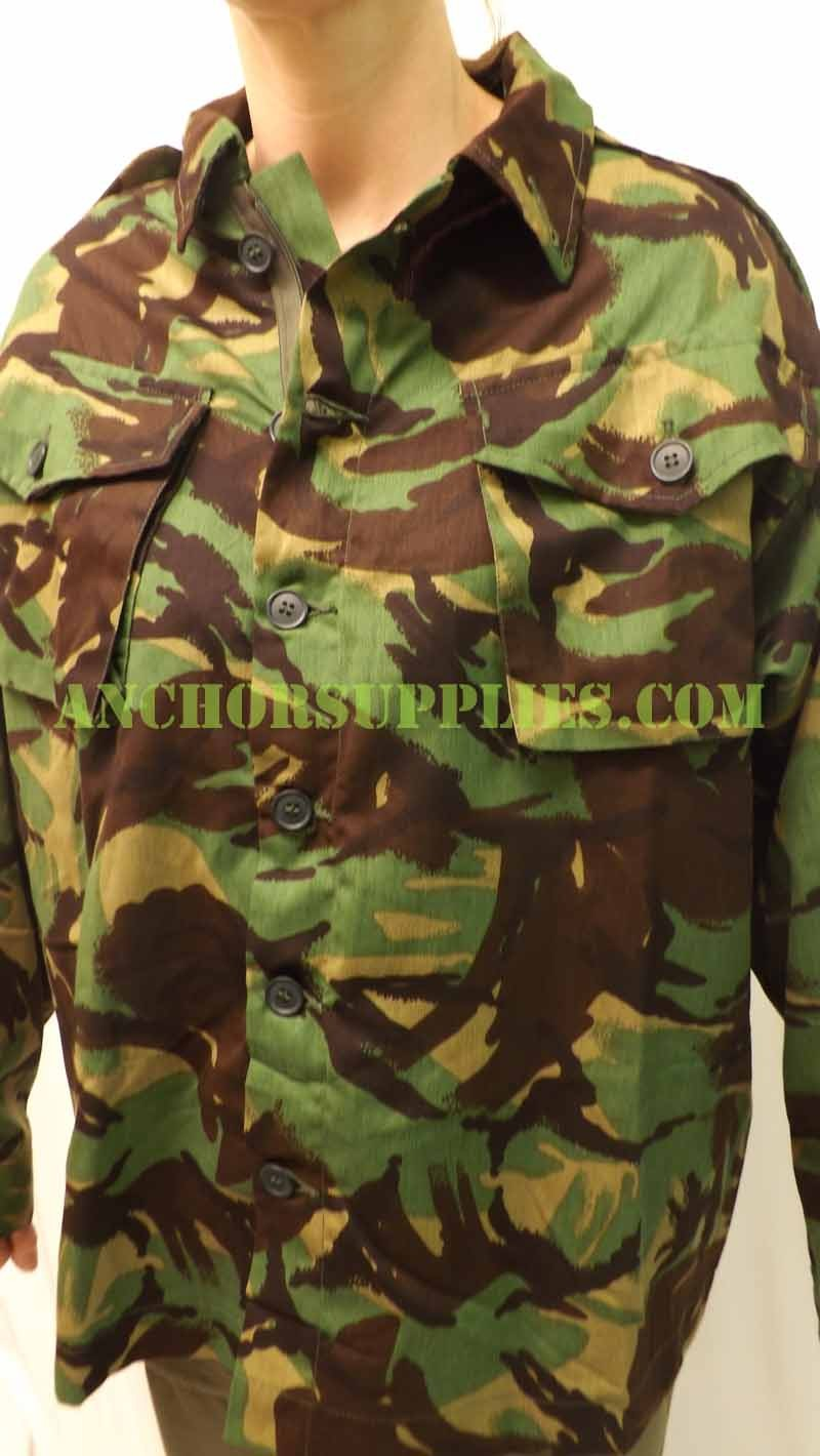 british army tropical jungle shirt