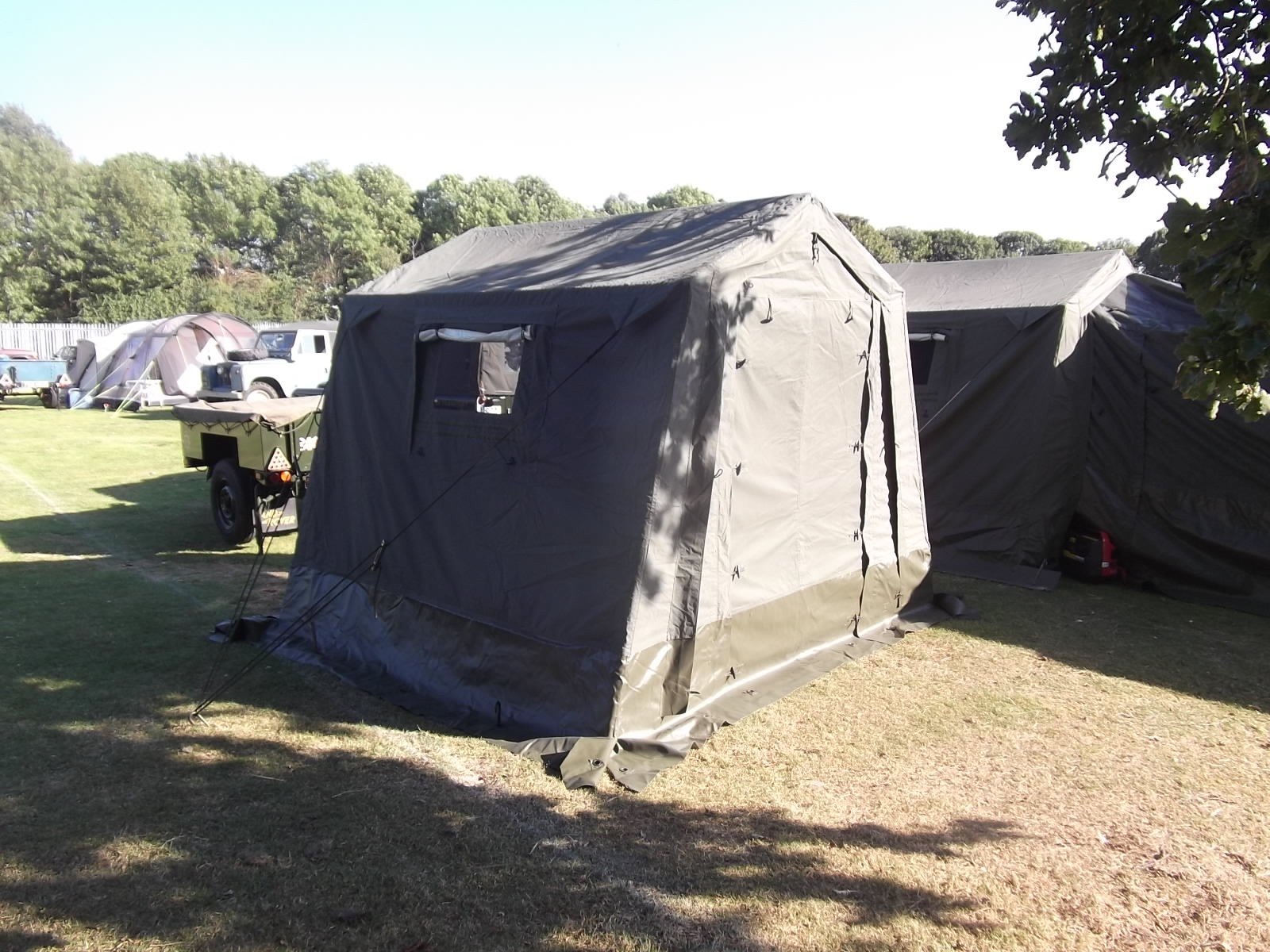 Ex British Army 9' x 9' Command Post Tent- A grade